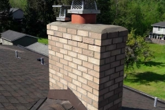 Modern Brick Chimney Repair