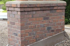 Repointed Brick with Chimney Cap