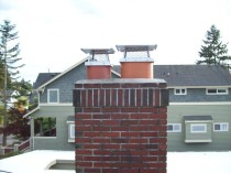 New Chimney Cap Seattle
