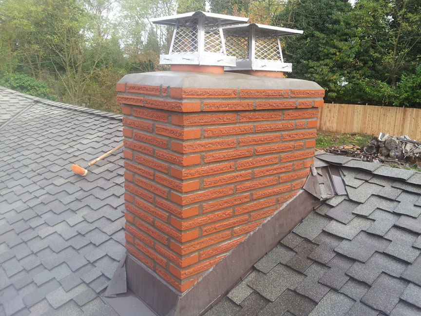Finished Romans With Drip Course Seattle Chimney And