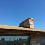 Finished Seattle Stone Chimney Repair