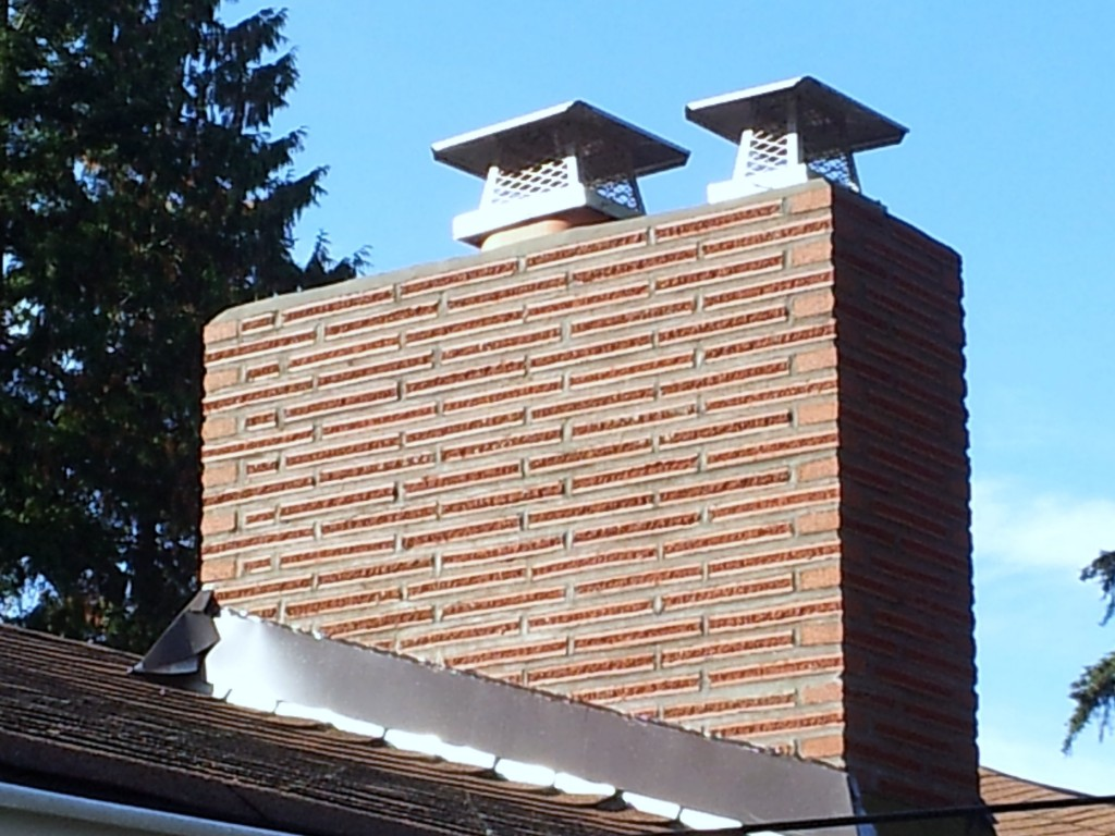 Roman Brick Finished Seattle Chimney And Fireplace Repair